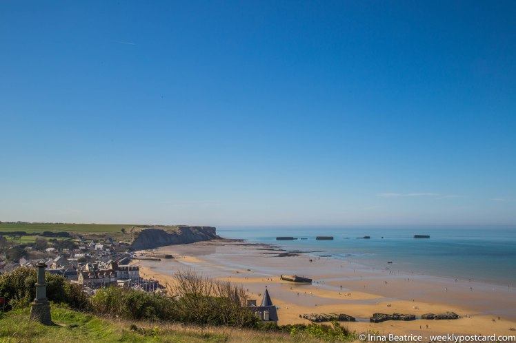 Arromanches - Normandy - weeklypostcard