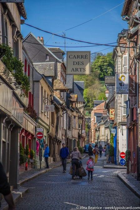 Honfleur 3 - Normandy - weeklypostcard