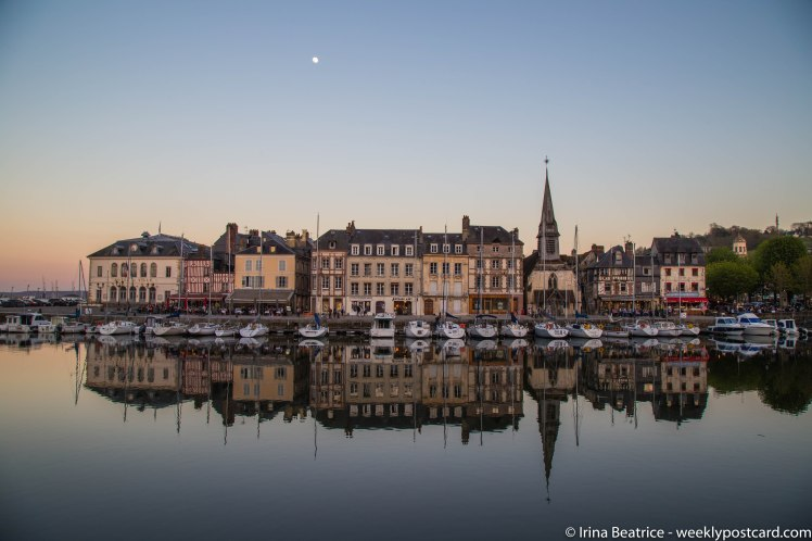 Honfleur - Normandy - weeklypostcard