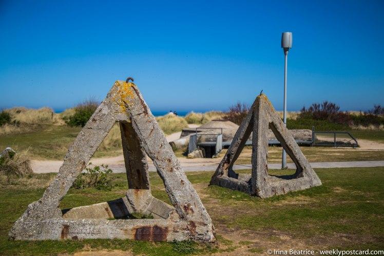 Landing beaches - Normandy - weeklypostcard