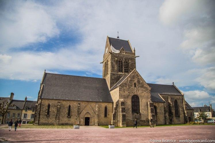 Sainte-mere-eglise - Normandy - weeklypostcard